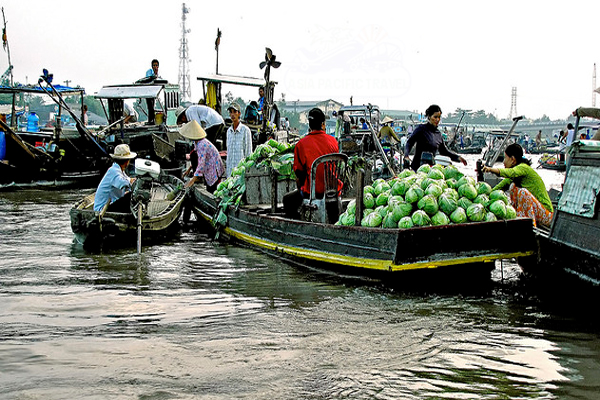 CaiRang_Floating_Market